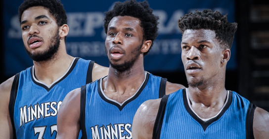 Image result for jimmy butler andrew wiggins karl anthony towns